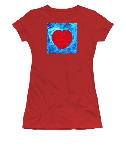 At The Heart Of The Matter Women's T-Shirt (Junior Cut) by Merton Allen