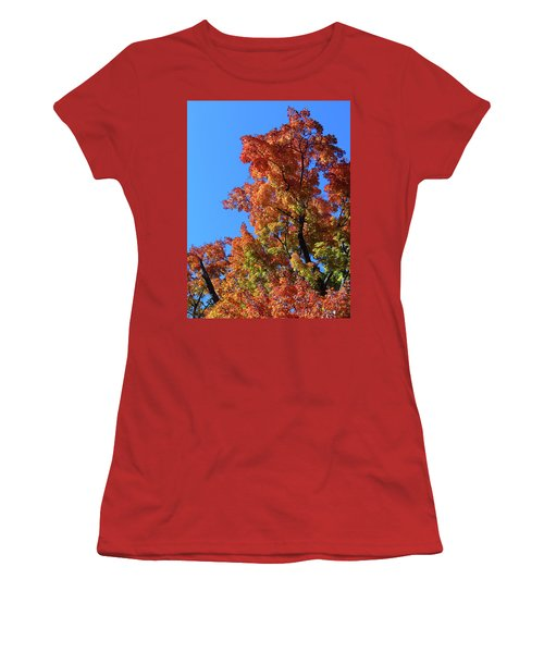 Autumn Foliage Women's T-Shirt (Athletic Fit)