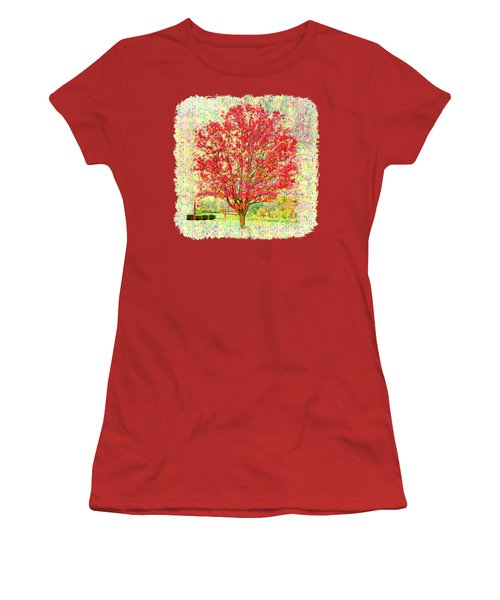 Autumn Musings 2 Women's T-Shirt (Junior Cut) by John M Bailey