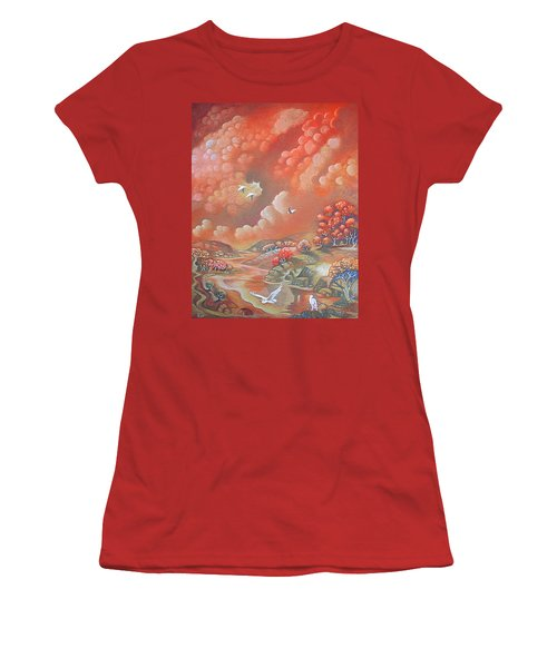 Avian Landscape Women's T-Shirt (Athletic Fit)