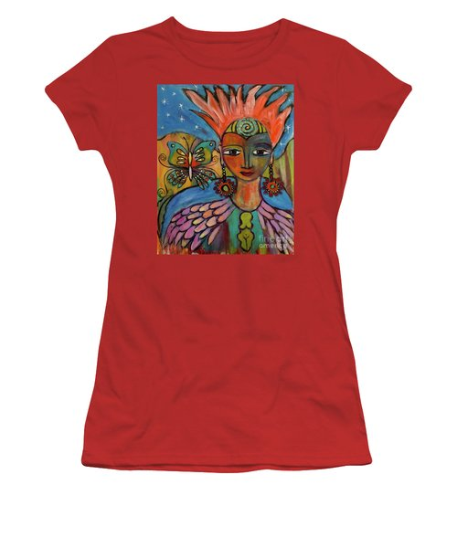 Aztec Princess Women's T-Shirt (Athletic Fit)