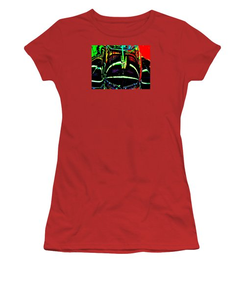 Bahre Car Show II 41 Women's T-Shirt (Junior Cut) by George Ramos