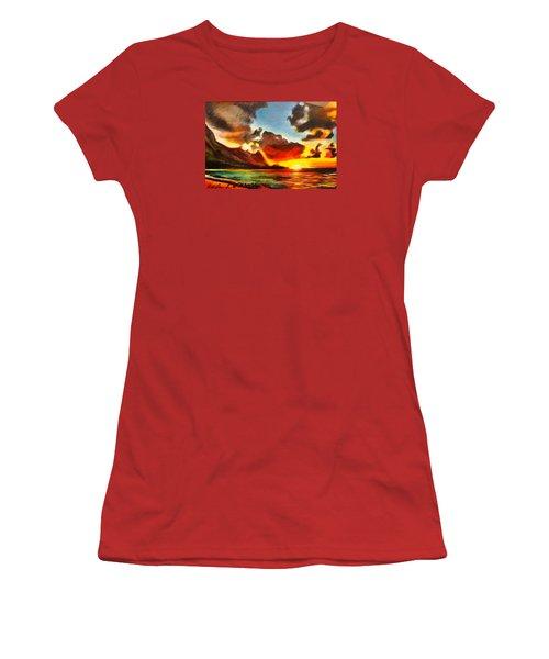 Bali Hai Women's T-Shirt (Athletic Fit)