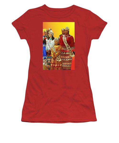 Beauties Grand Entrance Women's T-Shirt (Junior Cut) by Audrey Robillard