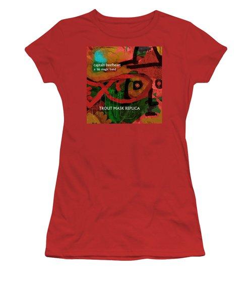 Beefheart Album Cover Women's T-Shirt (Athletic Fit)