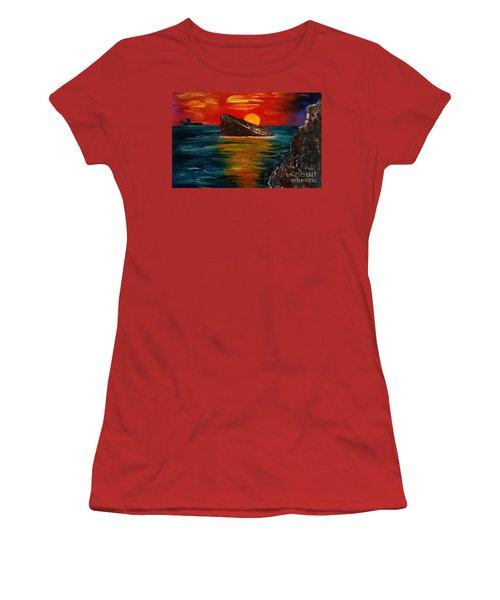 Benidorm Women's T-Shirt (Junior Cut) by Jeepee Aero