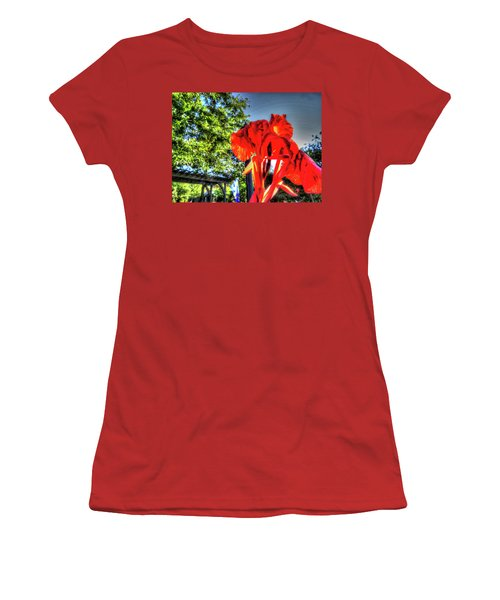 Big Red Women's T-Shirt (Athletic Fit)