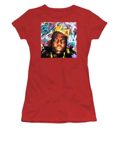 Biggy Smalls IIi Women's T-Shirt (Junior Cut) by Richard Day