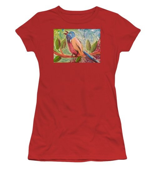 Bird At Rest Women's T-Shirt (Athletic Fit)