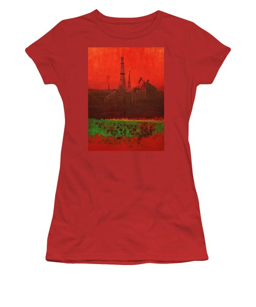 Blood Of Mother Earth Women's T-Shirt (Athletic Fit)