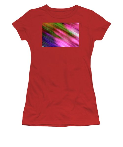 Blurred #6 Women's T-Shirt (Athletic Fit)