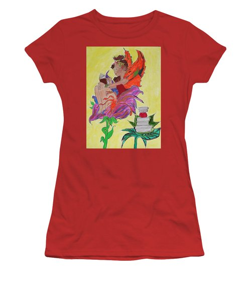 Book Fairy Women's T-Shirt (Athletic Fit)