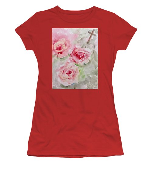 Bought With A Price Women's T-Shirt (Junior Cut) by Trilby Cole