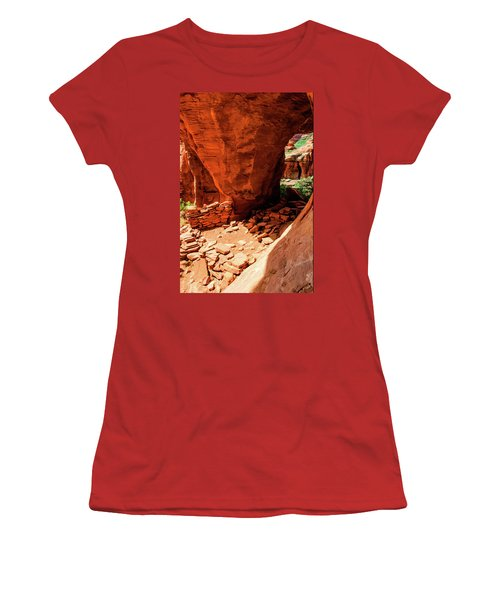 Boynton Canyon 04-647 Women's T-Shirt (Junior Cut) by Scott McAllister