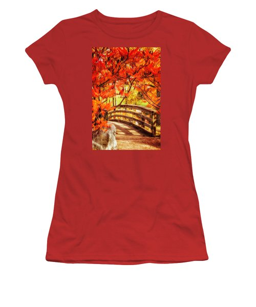 Bridge Of Fall Women's T-Shirt (Athletic Fit)
