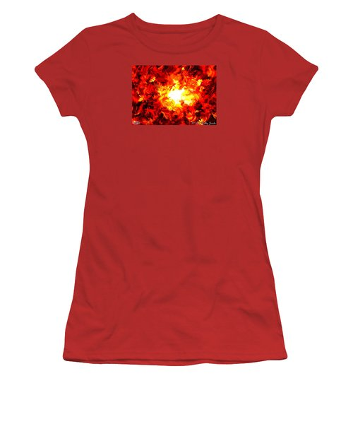 Brighter Than The Sun Women's T-Shirt (Junior Cut) by Holley Jacobs