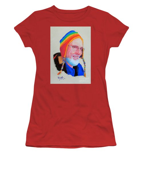 Bruce Women's T-Shirt (Junior Cut) by Rae  Smith