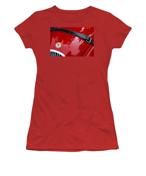 Women's T-Shirt (Athletic Fit) featuring the photograph Buckle Up by John Schneider