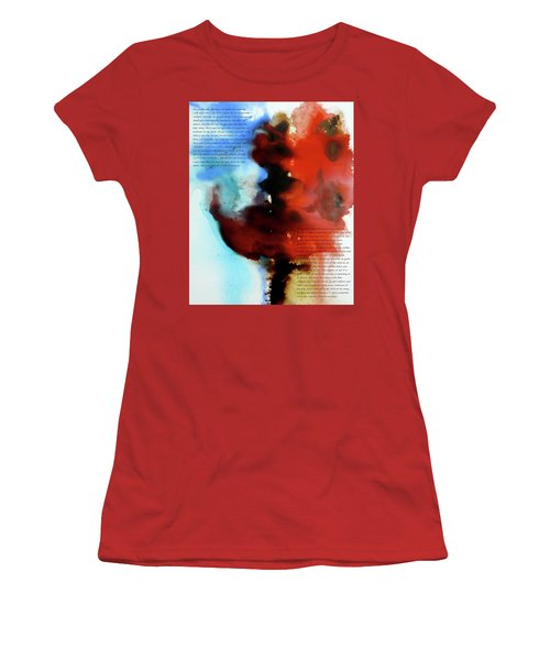 Budding Romance Women's T-Shirt (Junior Cut) by Jo Appleby