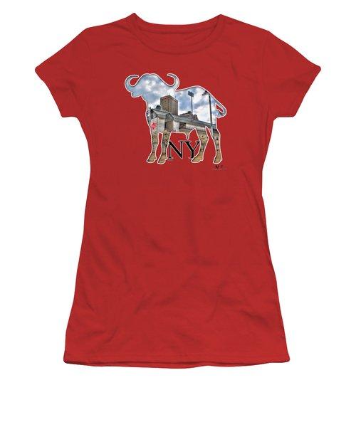 Buffalo Ny Coca Cola Field  Women's T-Shirt (Athletic Fit)