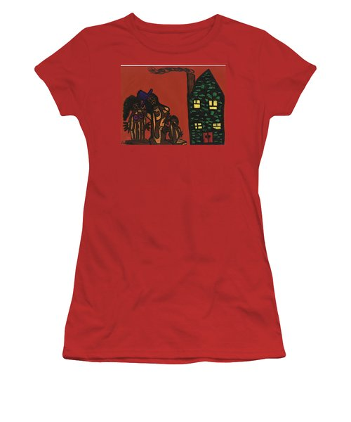 Bumpkin Dwellings Women's T-Shirt (Athletic Fit)