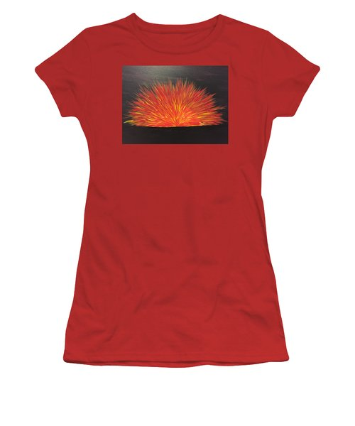 Burning Sun Women's T-Shirt (Athletic Fit)