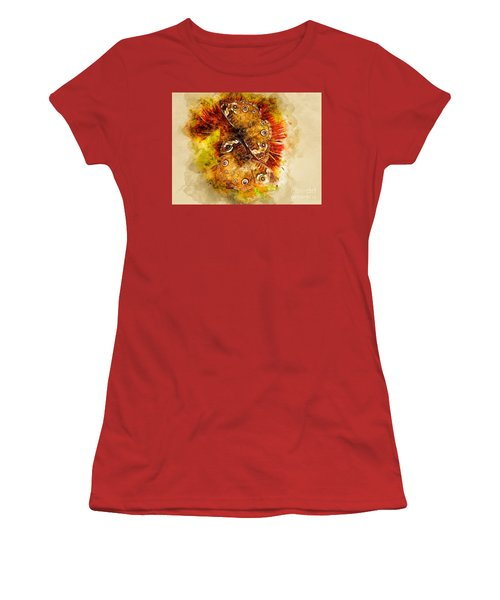 Butterflying Women's T-Shirt (Athletic Fit)