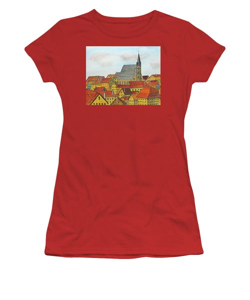 Cesky Krumlov Women's T-Shirt (Athletic Fit)