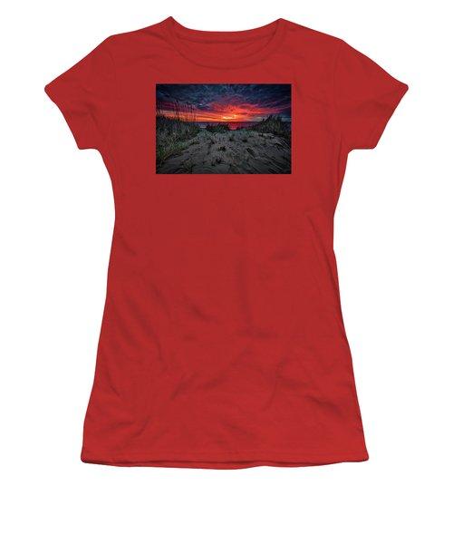 Cape Cod Sunrise Women's T-Shirt (Athletic Fit)