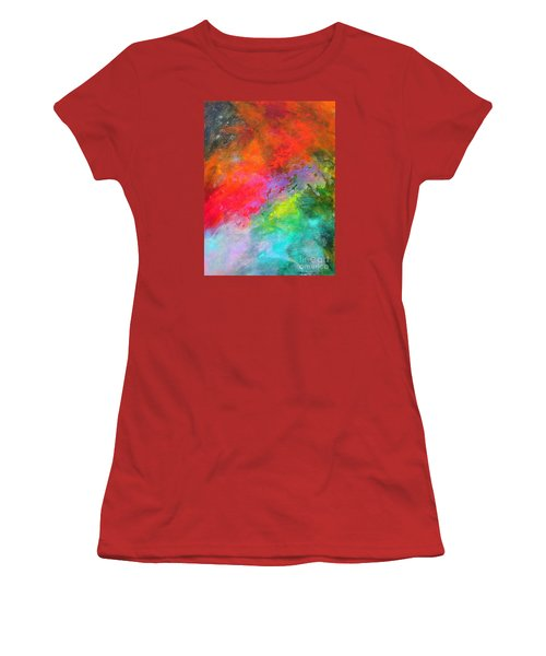 Fantasies In Space Series Painting. Celestial Concerto. Painting.  Women's T-Shirt (Athletic Fit)