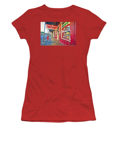 Central Grocery And Deli In The French Quarter Women's T-Shirt (Athletic Fit)