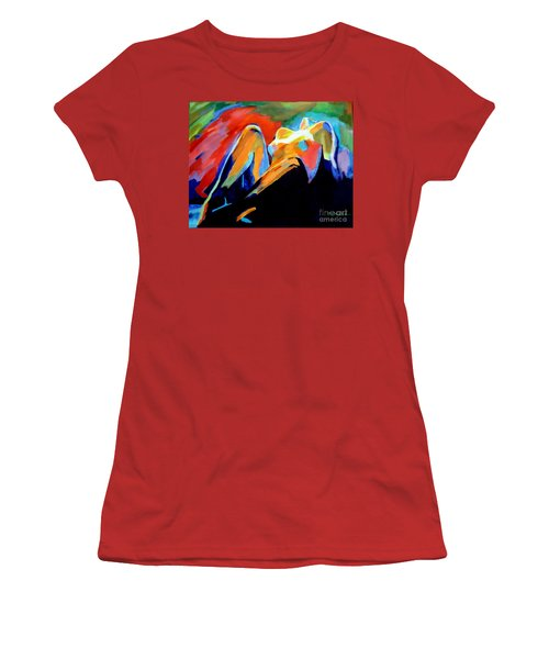 Charge Of The Soul Women's T-Shirt (Athletic Fit)