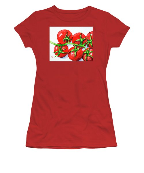 Cherry Tomatoes  Women's T-Shirt (Athletic Fit)