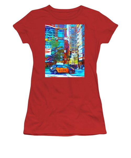 Chicago Colors 1 Women's T-Shirt (Athletic Fit)