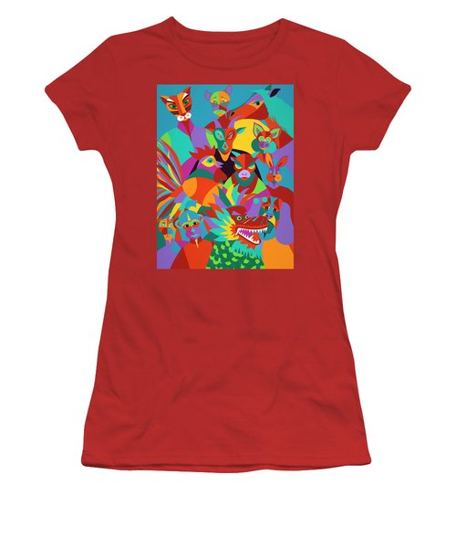 Chinese New Year Women's T-Shirt (Athletic Fit)