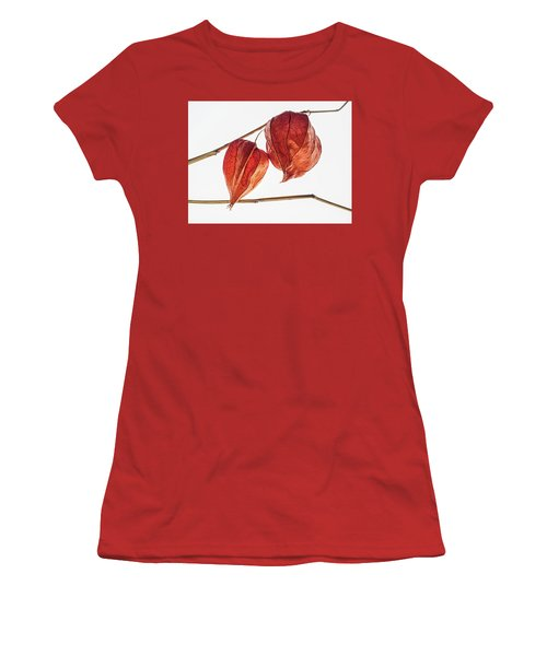 Chinese Paper Lantern Pods Women's T-Shirt (Athletic Fit)