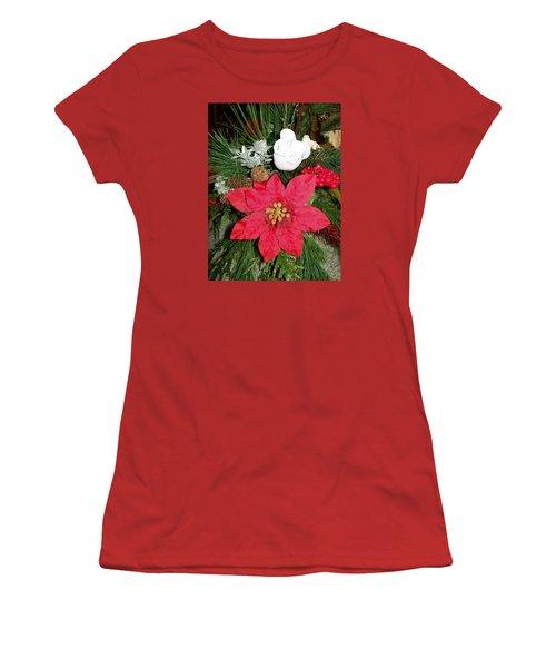 Christmas Centerpiece Women's T-Shirt (Junior Cut)