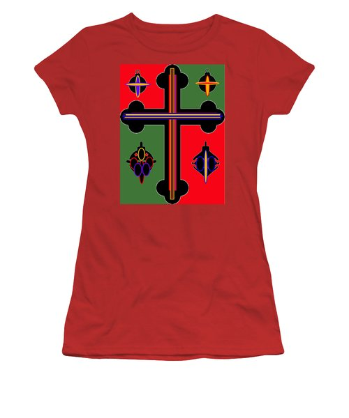 Christmas Ornate 1 Women's T-Shirt (Athletic Fit)