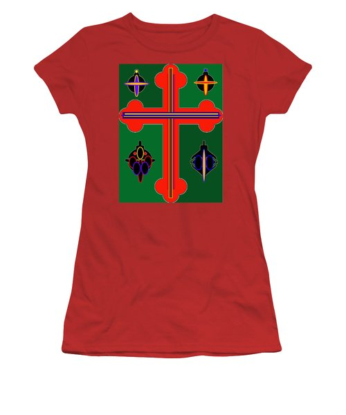 Christmas Ornate 3 Women's T-Shirt (Athletic Fit)