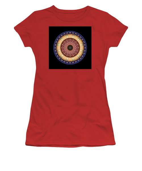 Circularium No 2646 Women's T-Shirt (Junior Cut) by Alan Bennington