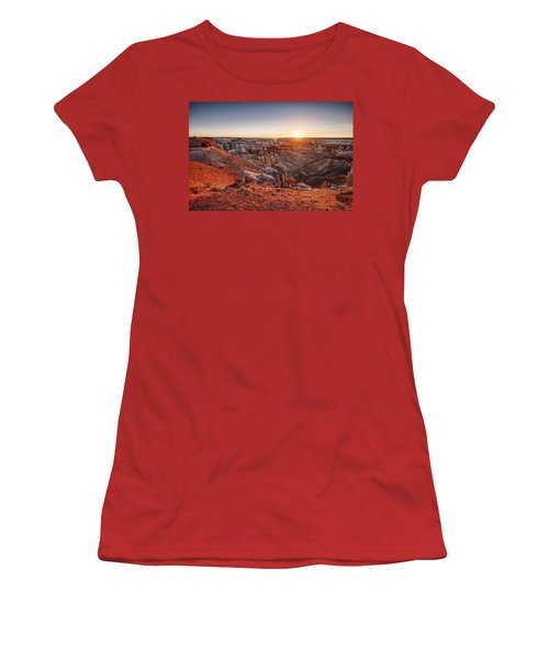 Coal Mine Canyon Sunrise Women's T-Shirt (Athletic Fit)