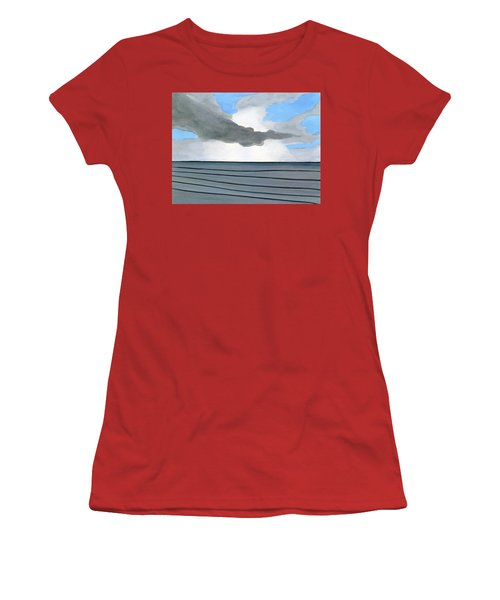 Cocoa Beach Sunrise 2016 Women's T-Shirt (Athletic Fit)