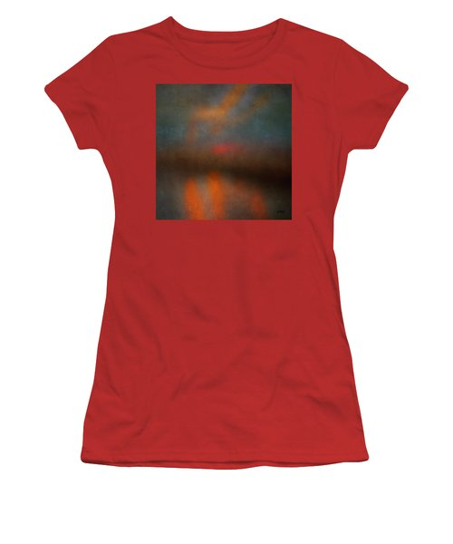 Color Abstraction Xxv Women's T-Shirt (Athletic Fit)