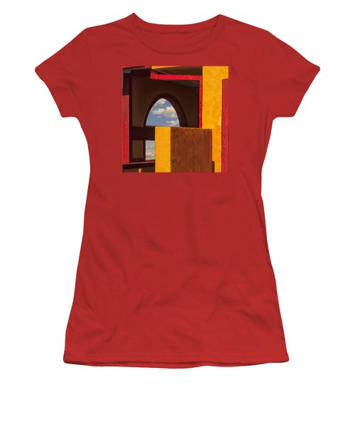 Colorful Adobe One Women's T-Shirt (Junior Cut) by Gary Warnimont