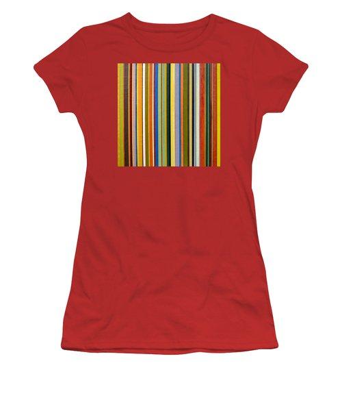 Comfortable Stripes Women's T-Shirt (Athletic Fit)
