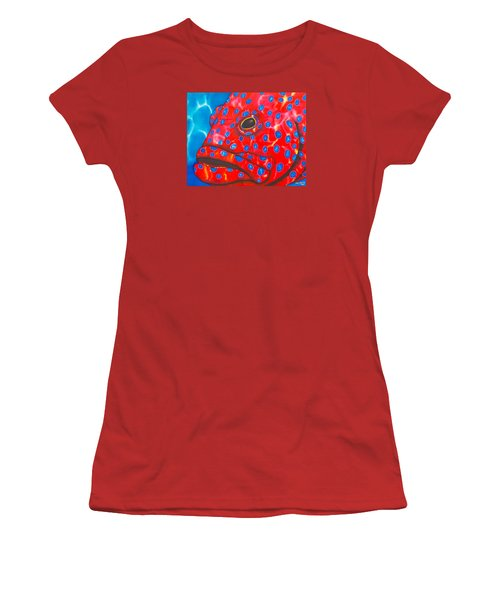 Coral Groupper II Women's T-Shirt (Athletic Fit)
