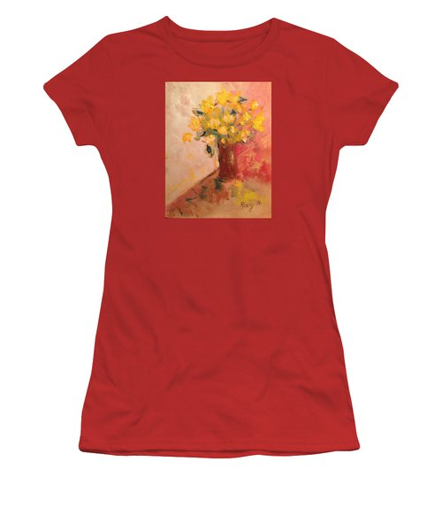 Country Flowers Women's T-Shirt (Athletic Fit)