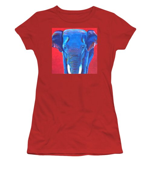 Critically Endangered Sumatran Elephant  Women's T-Shirt (Athletic Fit)