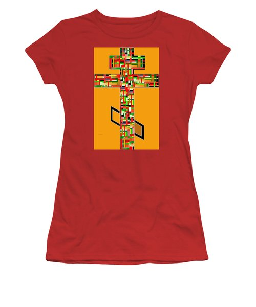 Cross No. 5 Women's T-Shirt (Athletic Fit)