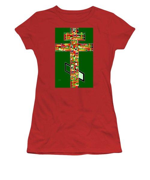 Cross No.2 Women's T-Shirt (Athletic Fit)